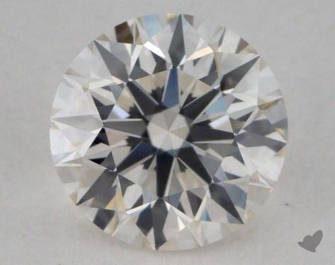 0.91 Carat H-VVS2 Excellent Cut Round Diamond