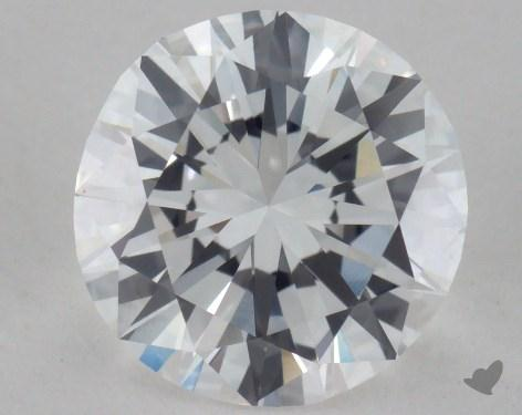 1.48 Carat D-VVS2 Very Good Cut Round Diamond
