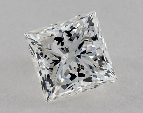 2.52 Carat G-VS2 Ideal Cut Princess Diamond