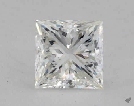 1.35 Carat H-SI1 Princess Cut  Diamond