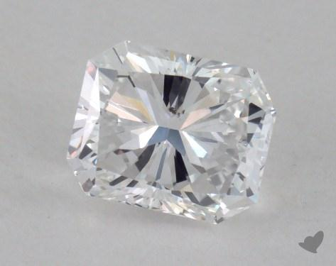 0.72 Carat D-SI1 Radiant Cut  Diamond