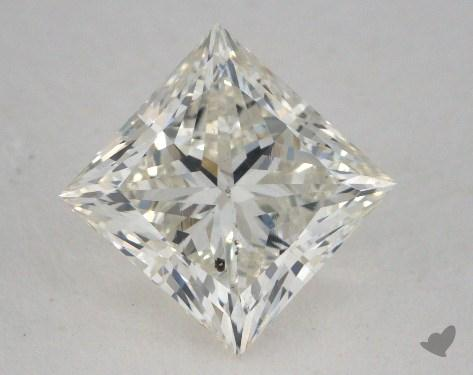2.13 Carat J-SI2 Ideal Cut Princess Diamond