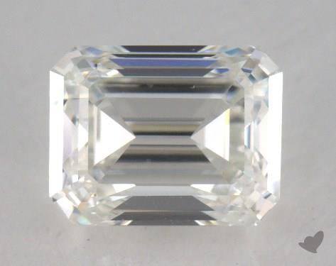 0.96 Carat H-VS1 Emerald Cut Diamond
