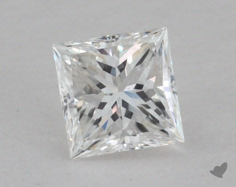0.40 Carat F-VS2 Princess Cut  Diamond