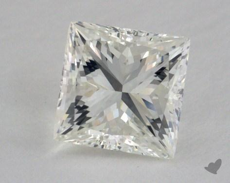 1.94 Carat J-SI1 Princess Cut Diamond