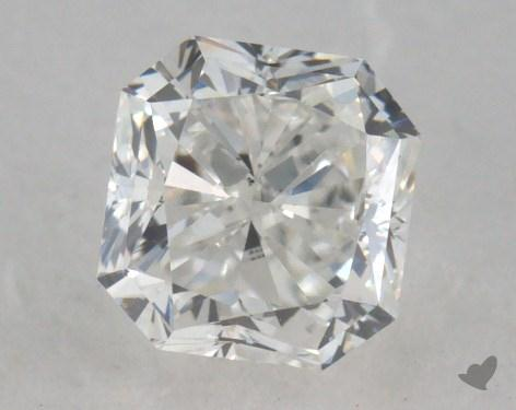 0.86 Carat F-SI1 Radiant Cut  Diamond
