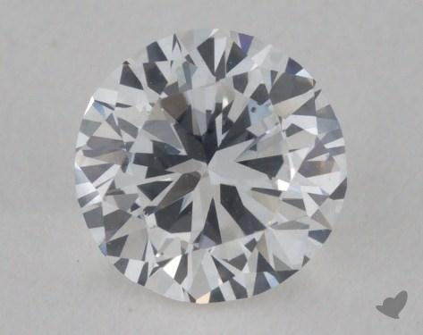 0.44 Carat F-VS2 Round Diamond