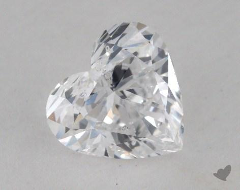 1.35 Carat D-SI2 Heart Shape Diamond