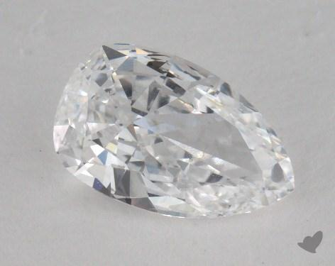 1.04 Carat D-IF Pear Cut Diamond