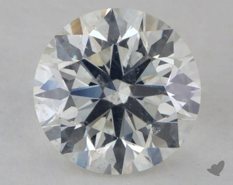 2.09 Carat I-SI2 Excellent Cut Round Diamond