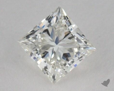 0.91 Carat H-VS2 Ideal Cut Princess Diamond