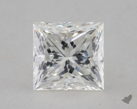 0.70 Carat H-VS2 Excellent Cut Princess Diamond