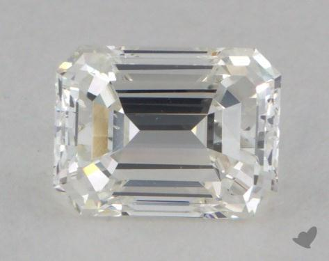0.81 Carat H-VS2 Emerald Cut Diamond