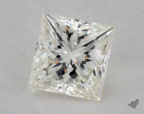 1.08 Carat J-VS2 Very Good Cut Princess Diamond