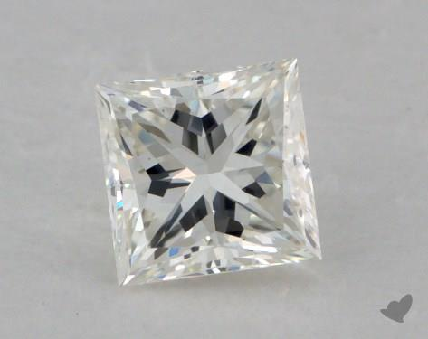 0.60 Carat I-VS1 Ideal Cut Princess Diamond