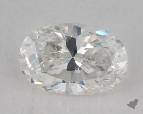 0.60 Carat H-SI2 Oval Cut  Diamond