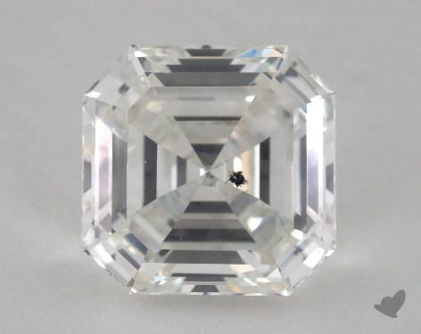 3.05 Carat H-SI2 Square Emerald Cut Diamond