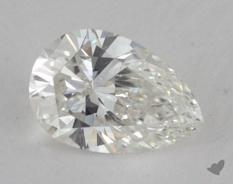 1.50 Carat H-SI1 Pear Cut Diamond