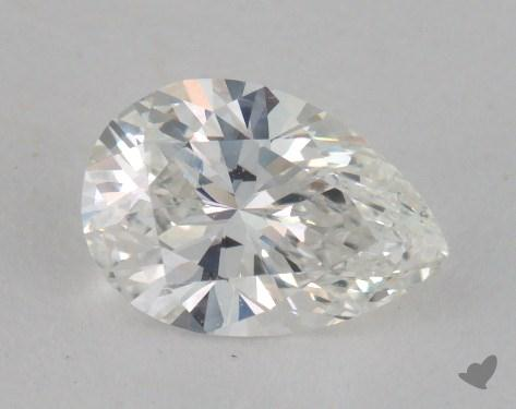 0.80 Carat G-VS1 Pear Shape Diamond