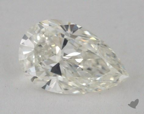 1.01 Carat H-VS1 Pear Cut Diamond