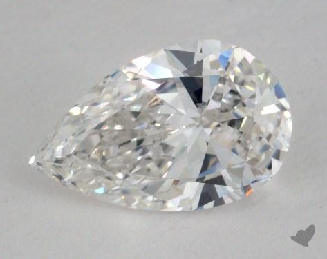 1.28 Carat E-SI1 Pear Shaped  Diamond