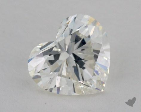 2.18 Carat H-SI1 Heart Cut Diamond