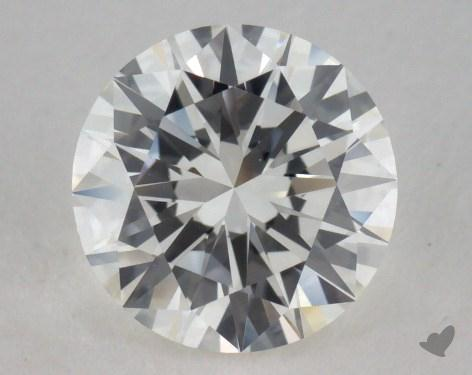 1.01 Carat H-VS1 Very Good Cut Round Diamond
