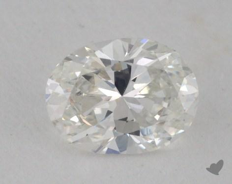 0.66 Carat F-VS2 Oval Cut  Diamond