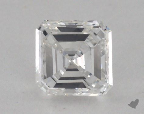 0.40 Carat F-SI1 Square Emerald Cut Diamond