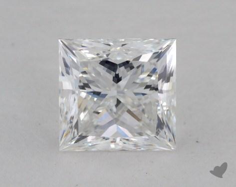 1.61 Carat F-VVS1 Ideal Cut Princess Diamond