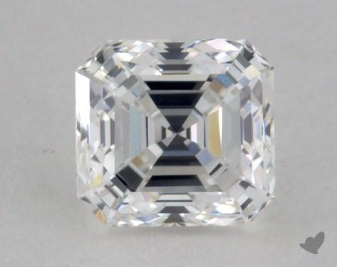 0.51 Carat E-VS1 Square Emerald Cut Diamond