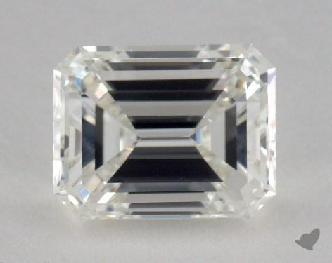 1.71 Carat H-VVS2 Emerald Cut  Diamond