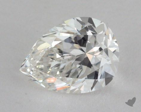 1.44 Carat H-VS2 Pear Cut Diamond