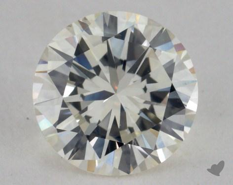 1.37 Carat J-SI2 Good Cut Round Diamond