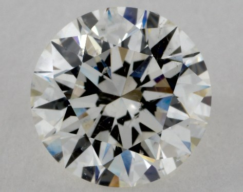 2.14 Carat I-SI1 Excellent Cut Round Diamond