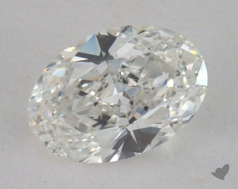 0.90 Carat H-VS2 Oval Cut Diamond