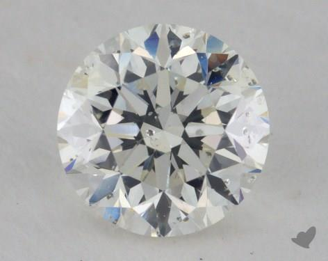 1.00 Carat I-SI2 Fair Cut Round Diamond