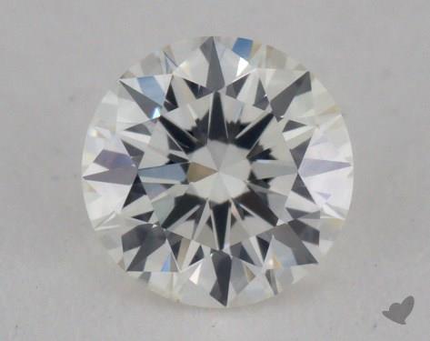 0.32 Carat E-SI1 Very Good Cut Round Diamond