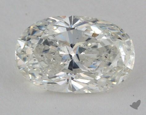 3.01 Carat H-SI2 Oval Cut Diamond