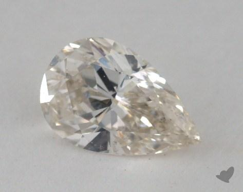 1.00 Carat J-SI1 Pear Shaped  Diamond