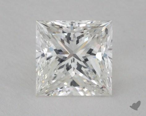1.54 Carat F-SI1 Ideal Cut Princess Diamond