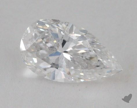 1.98 Carat E-SI2 Pear Shaped  Diamond