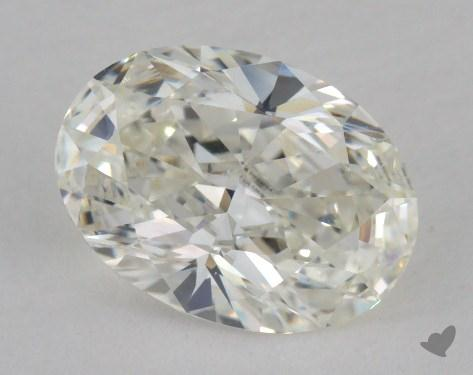 1.23 Carat H-VVS2 Oval Cut Diamond