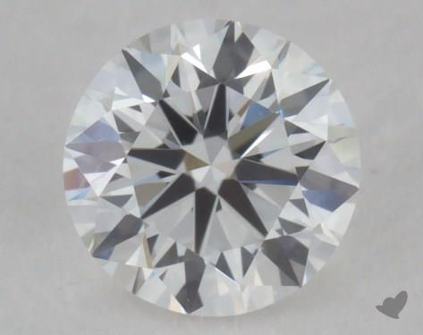 0.32 Carat F-VVS2 Very Good Cut Round Diamond