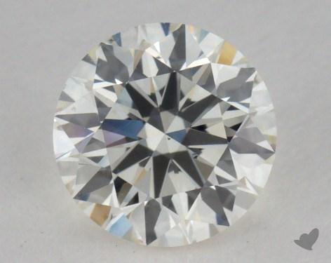 0.80 Carat J-VS2 Excellent Cut Round Diamond