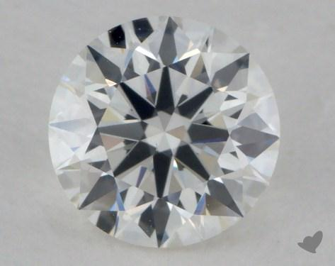 0.91 Carat H-VS1 Excellent Cut Round Diamond