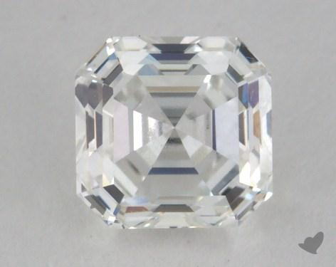 1.00 Carat G-VVS2 Square Emerald Cut Diamond