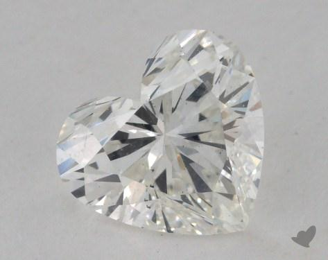 1.60 Carat H-SI1 Heart Cut Diamond