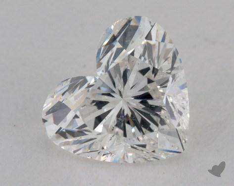 1.51 Carat H-SI2 Heart Cut Diamond