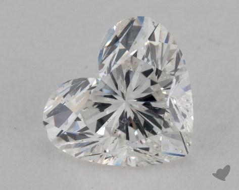 1.51 Carat H-SI2 Heart Shape Diamond